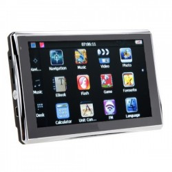 "5"" GPS Навигация за автомобил,  Windows CE, iGO, FM Transmitter"