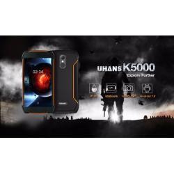 HUMMER k5000 8 ядрен 64 битов , УДАРОУСТОЙЧИВ, ВОДОУСТОЙЧИВ, ПРАХОУСТОЙЧИВ, 5000mA/h Power